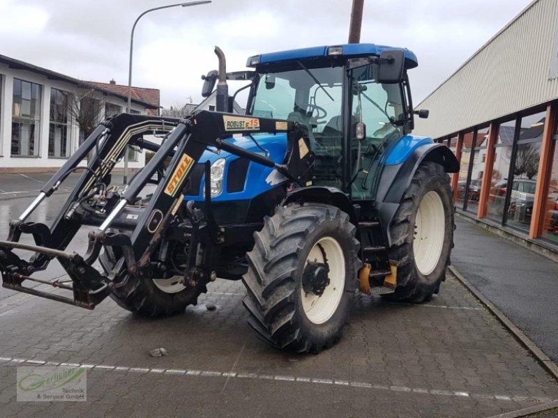 Traktor des Typs New Holland TS 110 A, Gebrauchtmaschine in Neustadt (Bild 2)