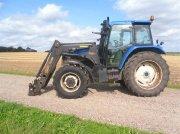 New Holland TS 115 med frontlæsser Тракторы