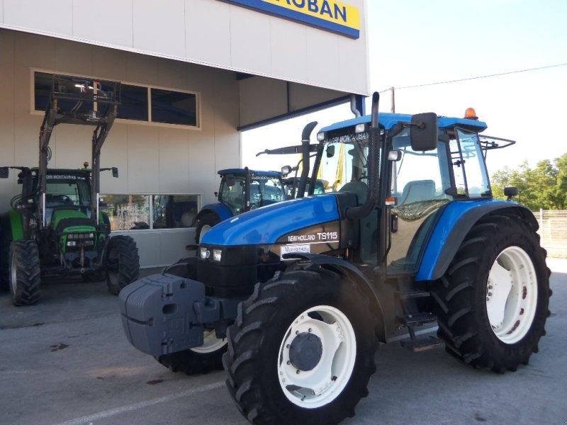 Traktor типа New Holland TS 115, Gebrauchtmaschine в Montauban (Фотография 1)