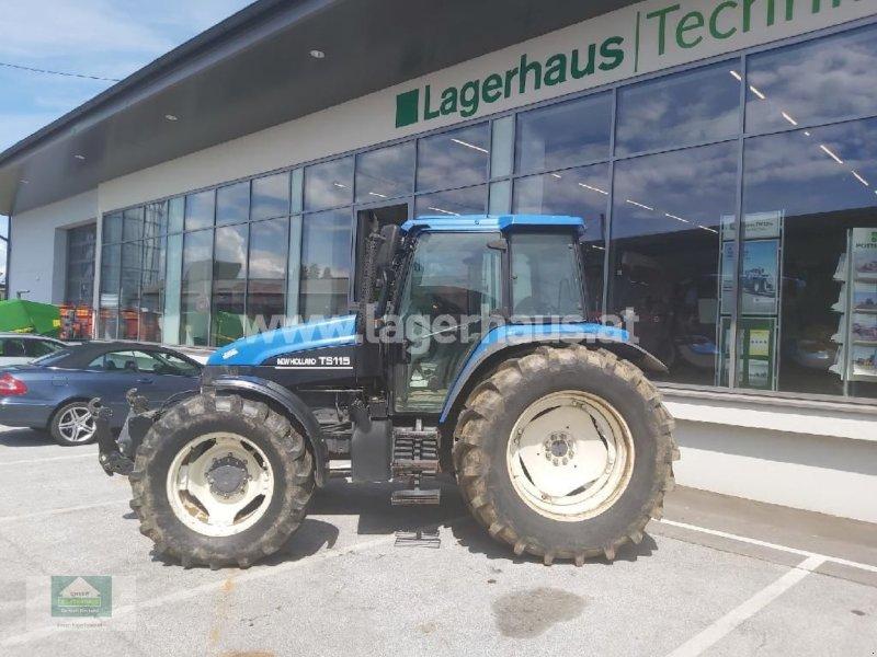Traktor des Typs New Holland TS 115, Gebrauchtmaschine in Klagenfurt (Bild 1)