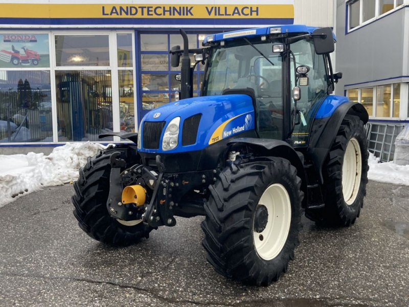 Traktor des Typs New Holland TS 125 Active Electro Command, Gebrauchtmaschine in Villach (Bild 1)