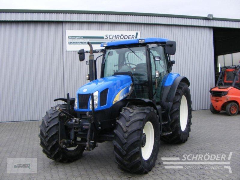 Traktor des Typs New Holland TS 135 A, Gebrauchtmaschine in Schwarmstedt (Bild 1)