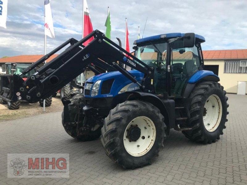 Traktor типа New Holland TS 135, Gebrauchtmaschine в Dummerstorf OT Petschow (Фотография 1)
