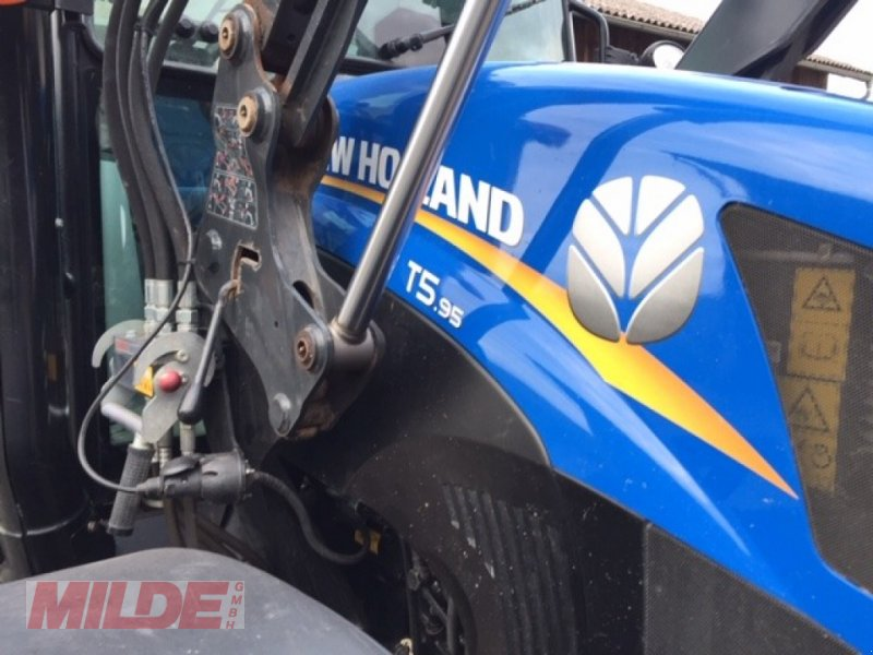 Traktor типа New Holland TS 95, Gebrauchtmaschine в Gebenbach (Фотография 1)