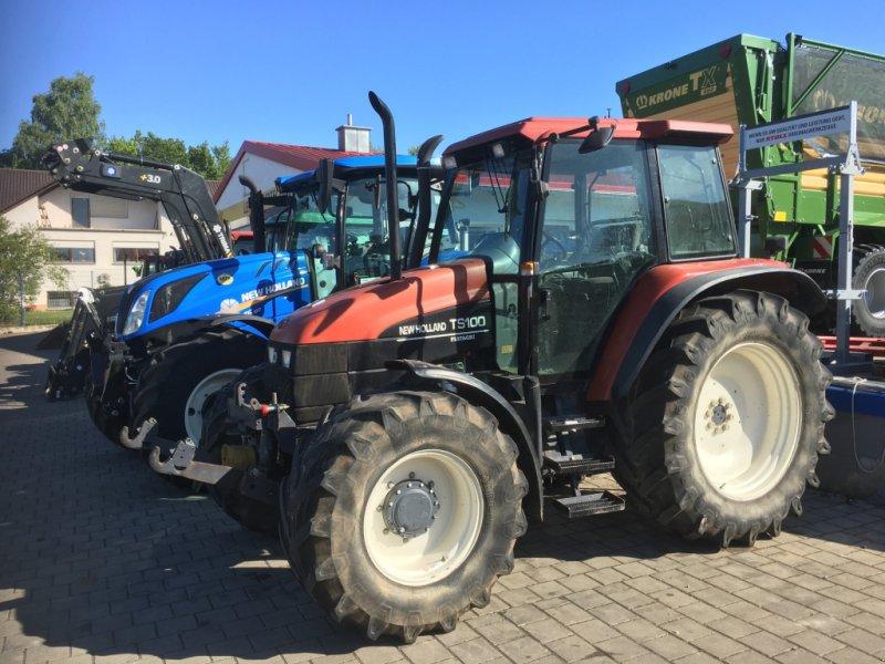 Traktor des Typs New Holland TS100 mit 98PS FH FZ DL 40km/h in Top Zustand, Gebrauchtmaschine in Amerbach (Bild 2)