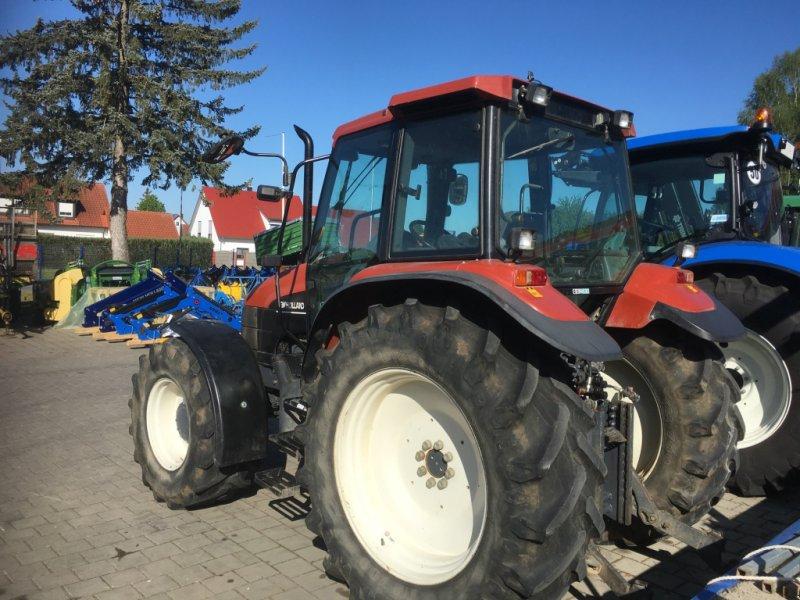 Traktor des Typs New Holland TS100 mit 98PS FH FZ DL 40km/h in Top Zustand, Gebrauchtmaschine in Amerbach (Bild 3)