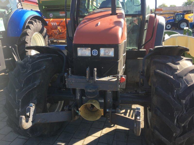 Traktor des Typs New Holland TS100 mit 98PS FH FZ DL 40km/h in Top Zustand, Gebrauchtmaschine in Amerbach (Bild 4)