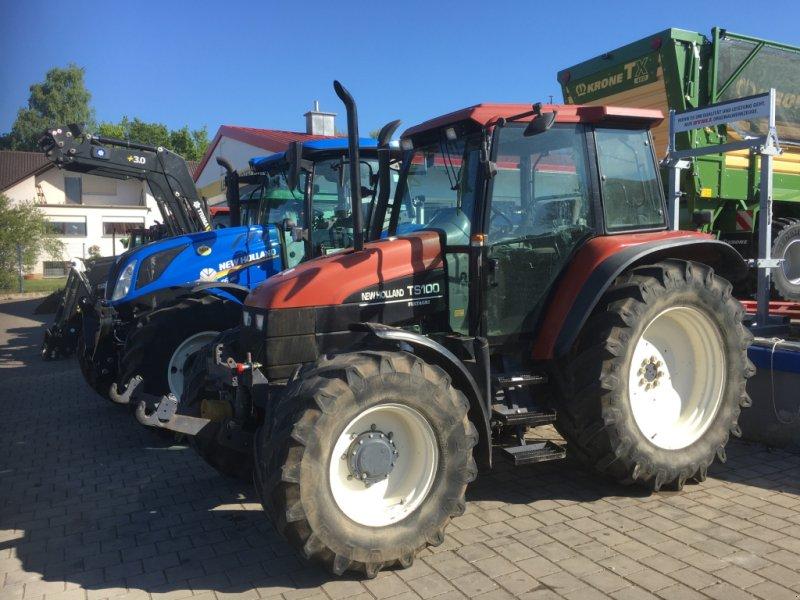 Traktor des Typs New Holland TS100 mit 98PS FH FZ DL 40km/h in Top Zustand, Gebrauchtmaschine in Amerbach (Bild 12)