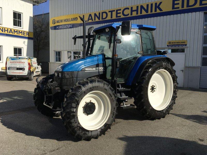 Traktor des Typs New Holland TS100, Gebrauchtmaschine in Burgkirchen (Bild 1)