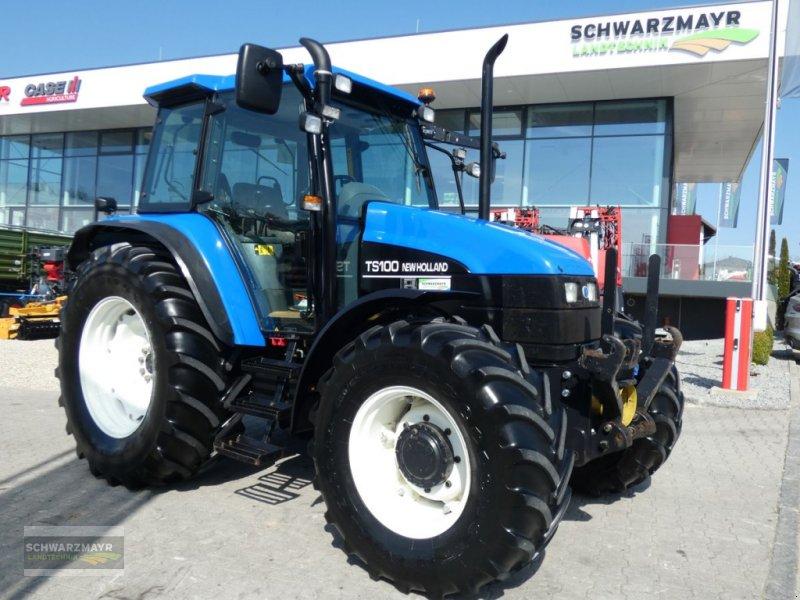 Traktor des Typs New Holland TS100, Gebrauchtmaschine in Aurolzmünster (Bild 1)