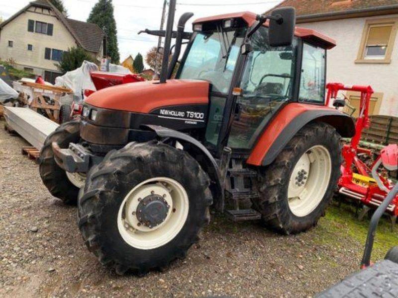 Traktor типа New Holland TS100, Gebrauchtmaschine в Muespach (Фотография 1)