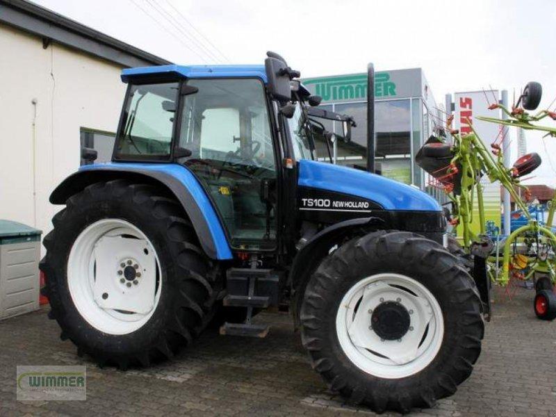 Traktor des Typs New Holland TS100, Gebrauchtmaschine in Kematen (Bild 1)