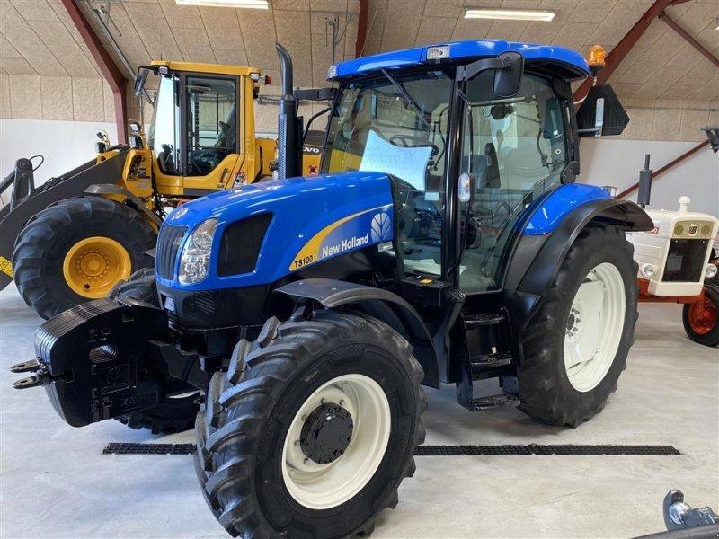 Traktor типа New Holland TS100A KUN 4100 TIMER! EKSTREMT FLOT!, Gebrauchtmaschine в Aalestrup (Фотография 1)