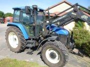Traktor типа New Holland TS115 med TRIMA 480 læsser, Gebrauchtmaschine в Skive