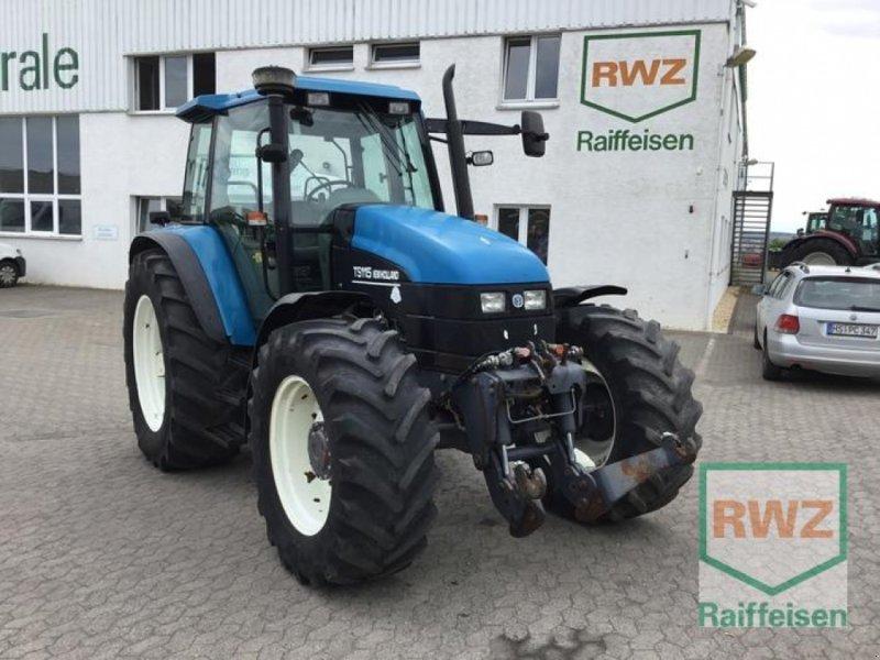 Traktor des Typs New Holland TS115 Schlepper, Gebrauchtmaschine in Kruft (Bild 1)