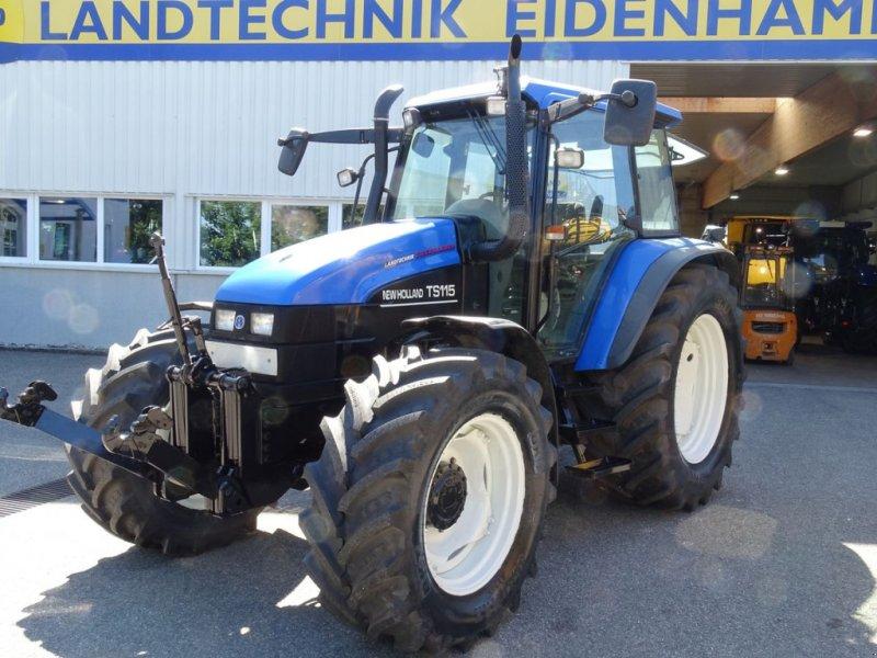 Traktor des Typs New Holland TS115, Gebrauchtmaschine in Burgkirchen (Bild 1)