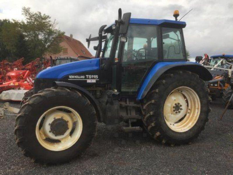 Traktor des Typs New Holland TS115, Gebrauchtmaschine in MARLENHEIM (Bild 1)
