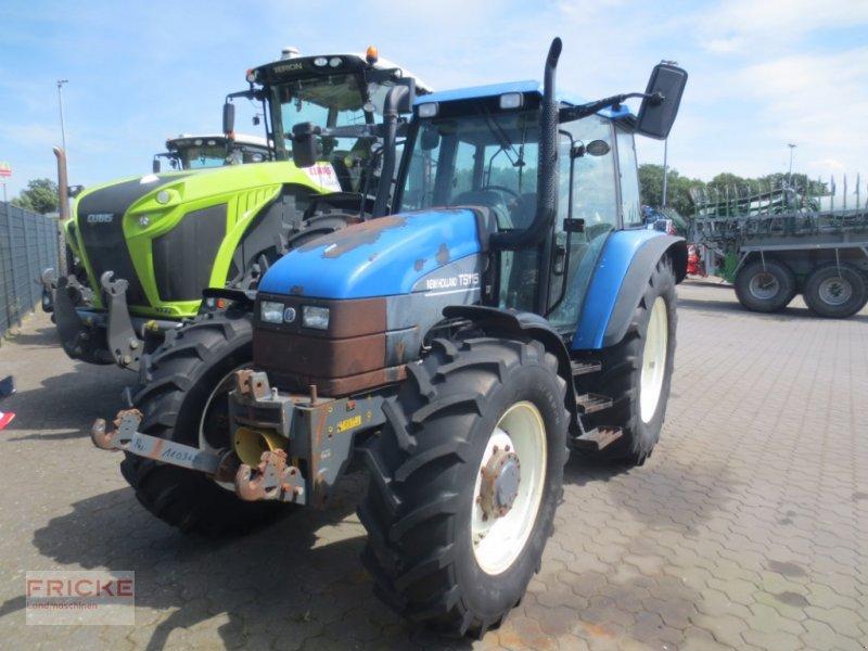 Traktor typu New Holland TS115, Gebrauchtmaschine w Lamstedt (Zdjęcie 1)