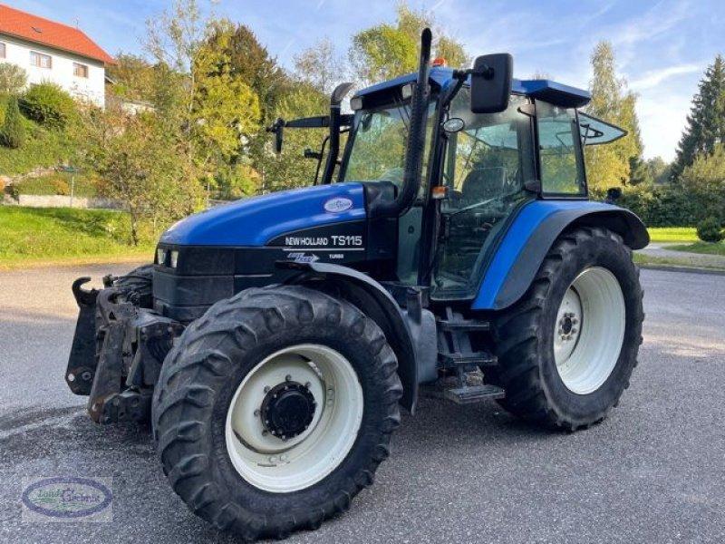 Traktor des Typs New Holland TS115, Gebrauchtmaschine in Münzkirchen (Bild 1)