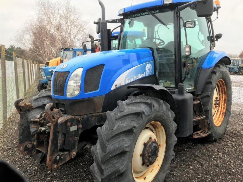Traktor a típus New Holland TS115A, Gebrauchtmaschine ekkor: Middelfart (Kép 1)