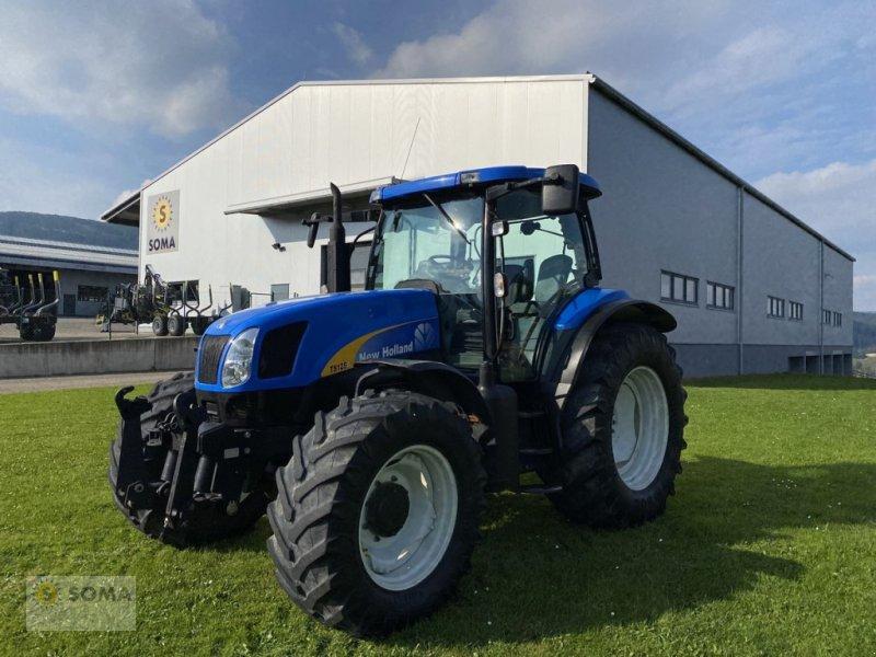 Traktor des Typs New Holland TS125A, Gebrauchtmaschine in Fischbach (Bild 1)