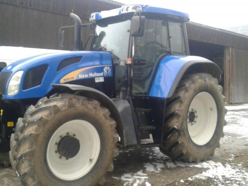 Traktor des Typs New Holland TVT 170, Gebrauchtmaschine in Münchberg (Bild 1)