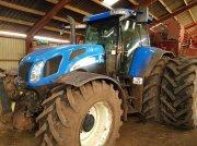 New Holland TVT 190 Frontlift og pto. Luftanlæg. 5800 timer. Traktor
