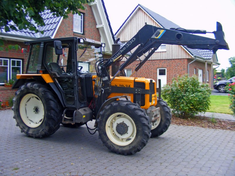 Traktor typu Renault 70-34 Frontlader+Wendeschaltung, Gebrauchtmaschine w Kutenholz (Zdjęcie 1)