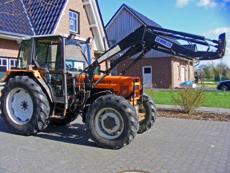 Traktor типа Renault 75.14 Frontlader+Wendeschaltung, Gebrauchtmaschine в Kutenholz (Фотография 1)
