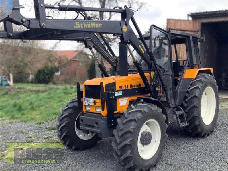 Traktor tip Renault 90/34 MX, Gebrauchtmaschine in Homberg (Ohm) - Maulbach (Poză 1)