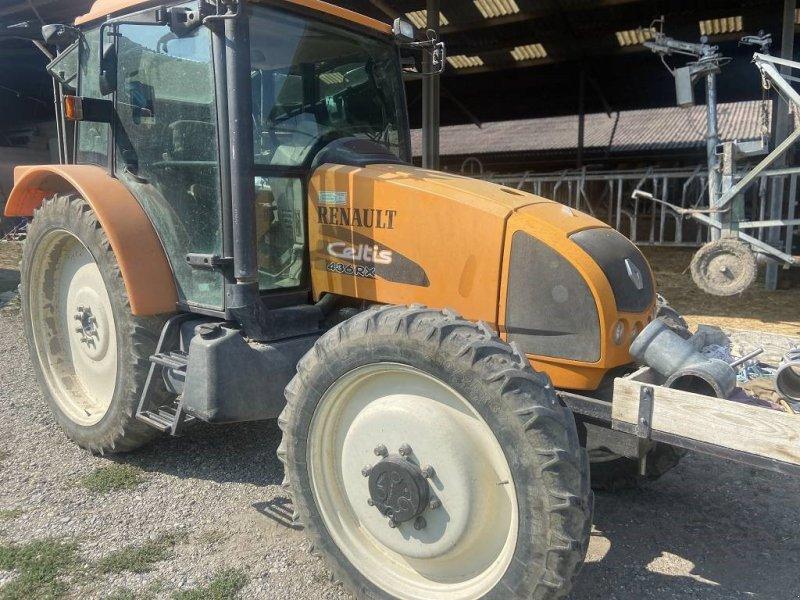 Traktor des Typs Renault Celtis 436 RX mit Pflegeräder, Gebrauchtmaschine in Schutterzell (Bild 1)