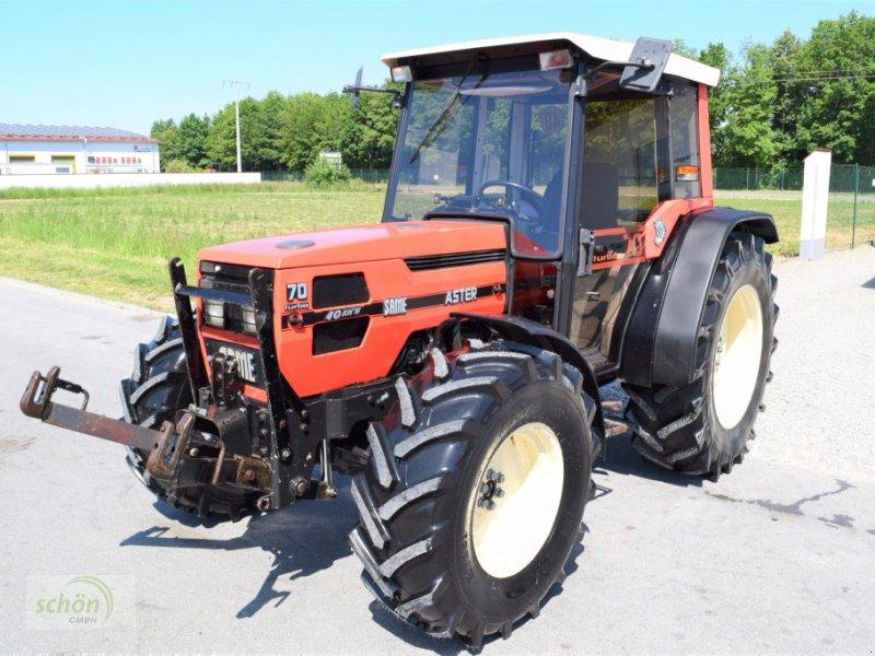 Traktor typu Same Aster 70 Turbo - ein niederer Traktor im guten Zustand mit 40 km/h-Zulassung, Gebrauchtmaschine v Burgrieden (Obrázok 1)