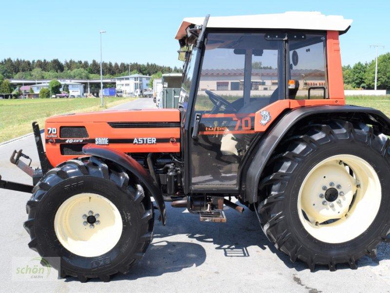 Traktor typu Same Aster 70 Turbo - ein niederer Traktor im guten Zustand mit 40 km/h-Zulassung, Gebrauchtmaschine v Burgrieden (Obrázok 2)