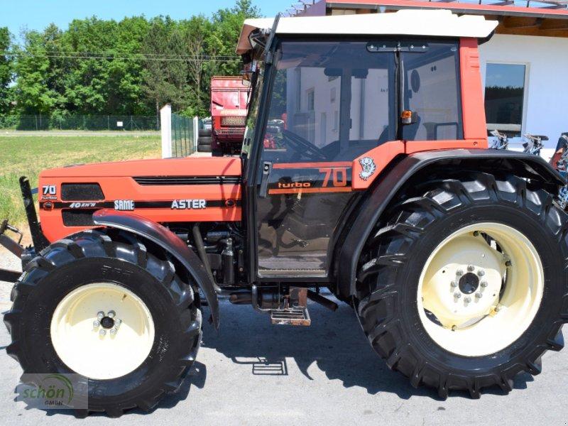 Traktor typu Same Aster 70 Turbo - ein niederer Traktor im guten Zustand mit 40 km/h-Zulassung, Gebrauchtmaschine v Burgrieden (Obrázok 3)