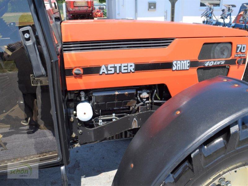 Traktor typu Same Aster 70 Turbo - ein niederer Traktor im guten Zustand mit 40 km/h-Zulassung, Gebrauchtmaschine v Burgrieden (Obrázok 13)