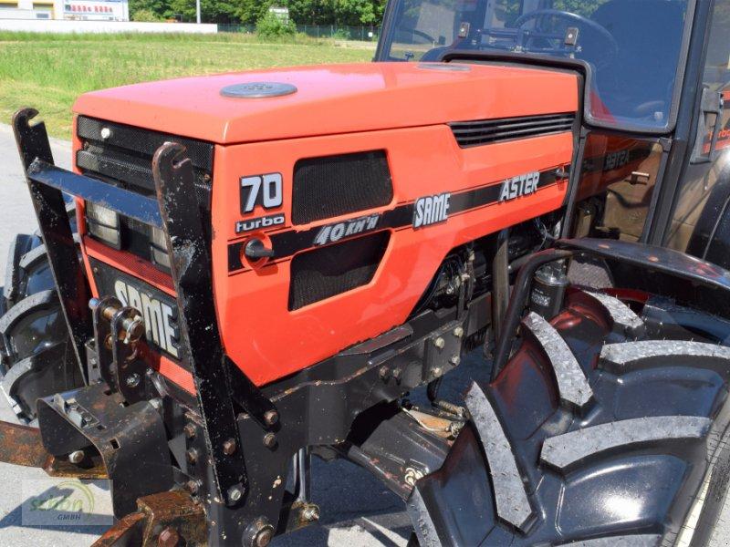Traktor typu Same Aster 70 Turbo - ein niederer Traktor im guten Zustand mit 40 km/h-Zulassung, Gebrauchtmaschine v Burgrieden (Obrázok 17)