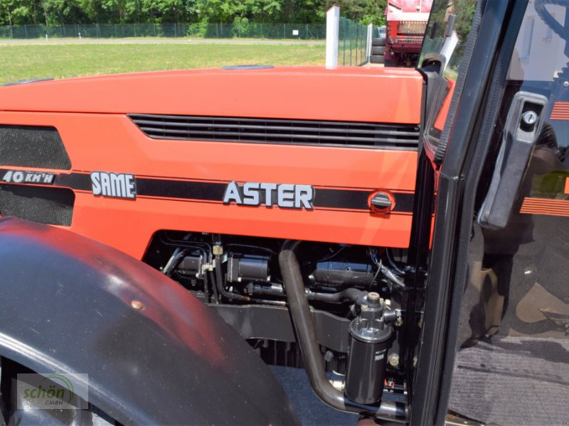 Traktor typu Same Aster 70 Turbo - ein niederer Traktor im guten Zustand mit 40 km/h-Zulassung, Gebrauchtmaschine v Burgrieden (Obrázok 18)