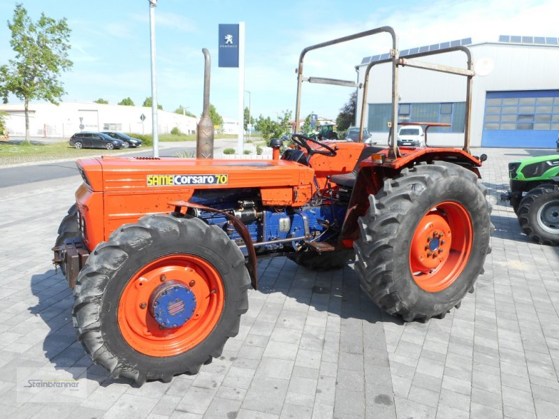 Traktor des Typs Same Corsaro 70 DT, Gebrauchtmaschine in Wörnitz (Bild 1)