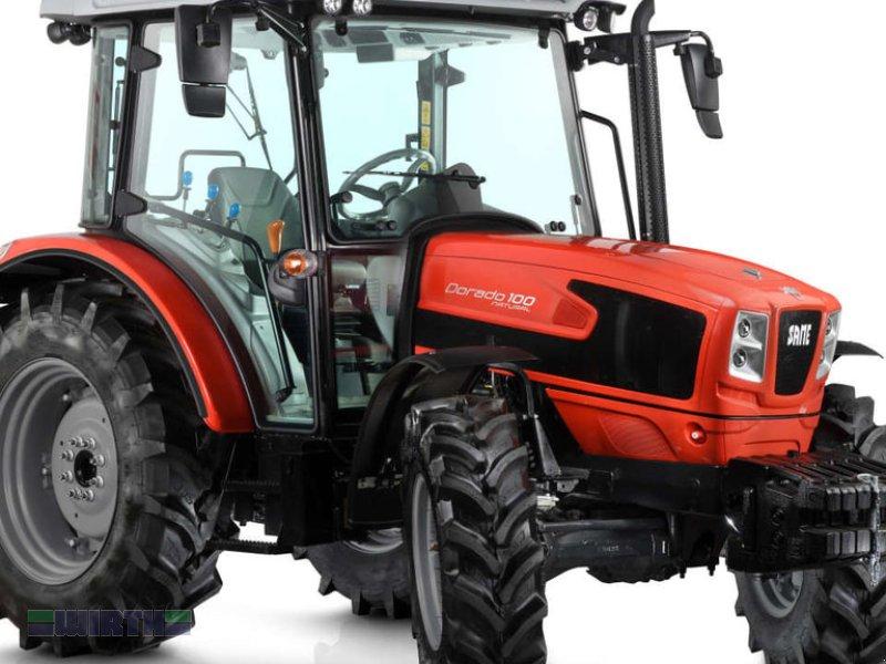 Traktor des Typs Same Dorado 70 Natural mit Frontlader, Neumaschine in Buchdorf (Bild 1)