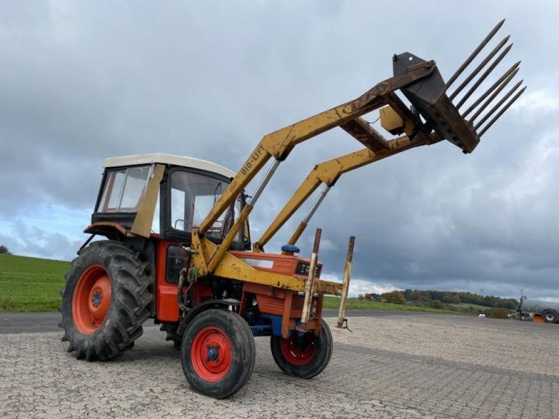 Traktor des Typs Same Falcon 50 mit Frontlader & Mähwerk, Gebrauchtmaschine in Steinau  (Bild 1)
