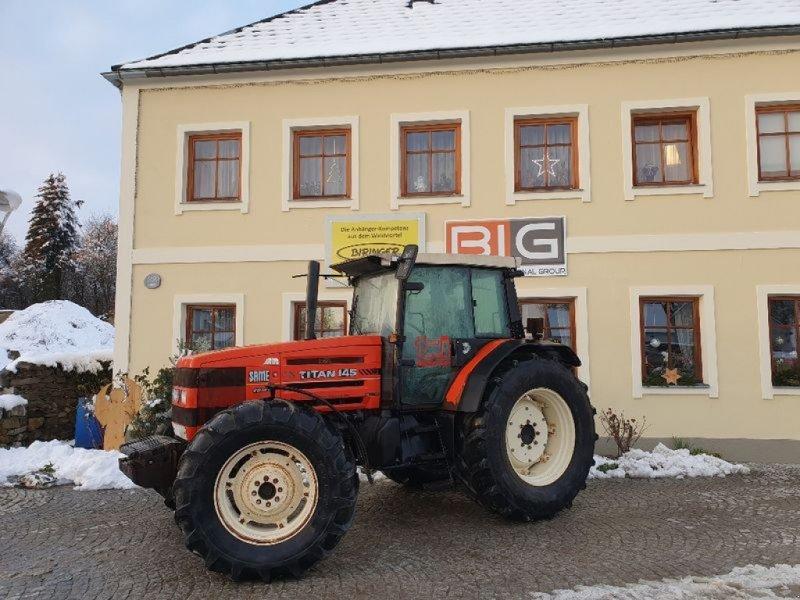 Traktor des Typs Same Titan 145 DT, Gebrauchtmaschine in Brunn an der Wild (Bild 1)