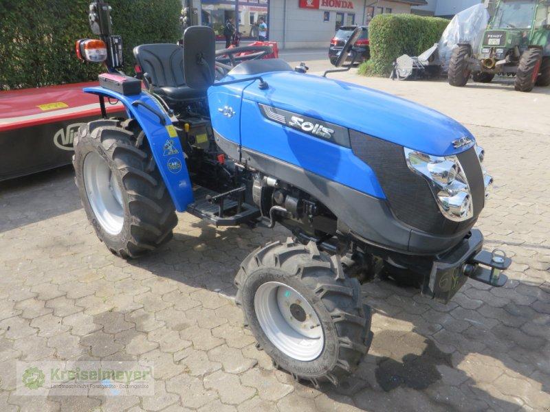 Traktor des Typs Solis 20 + breite Radialbereifung + Zugmaul + Straßenzulassung NEU, Neumaschine in Feuchtwangen (Bild 1)