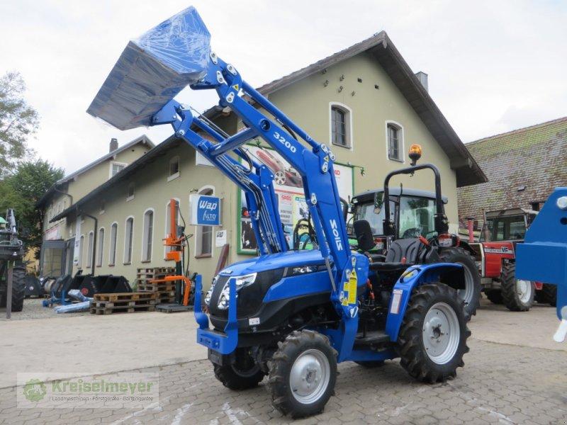 Traktor des Typs Solis 20 + Frontlader + Schaufel 20 PS Kleintraktor, Neumaschine in Feuchtwangen (Bild 1)
