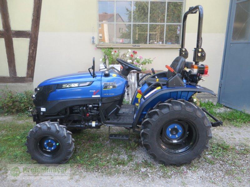 Traktor des Typs Solis 26 TIGER + breite Radial-Bereifung + Scharmüller Zugmaul, Neumaschine in Feuchtwangen (Bild 1)
