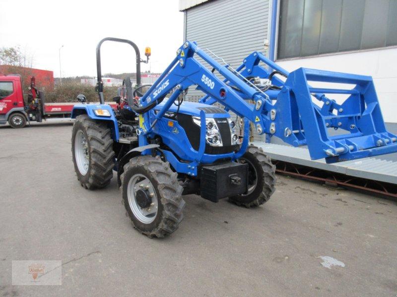 Traktor des Typs Solis 50 Allrad, Gebrauchtmaschine in Remchingen (Bild 1)