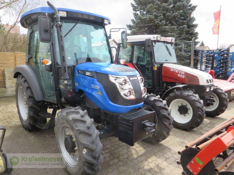 Traktor des Typs Solis 50 + Kabine + Radial-Reifen + Zugmaul NEU, Neumaschine in Feuchtwangen (Bild 1)