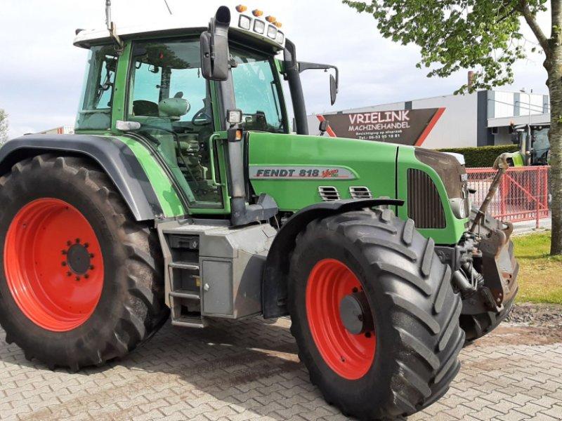 Traktor типа Sonstige FENDT 818 Vario TMS 50km Lucht met Fronthef, Gebrauchtmaschine в Schoonebeek (Фотография 1)
