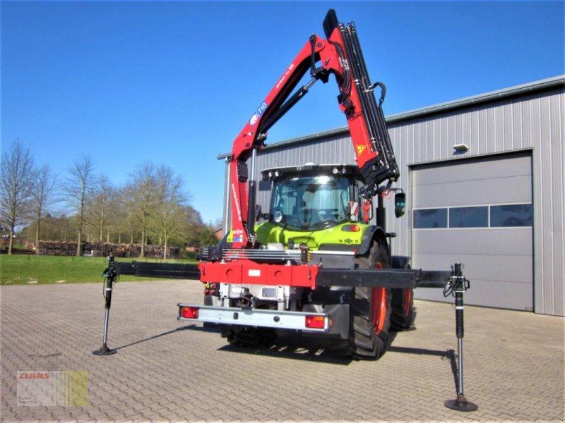 Traktor des Typs Sonstige HMF 710 K-RCS Profiline Dreipunkt- Anbauladekran 10,80 m, Funkfernsteuerung, Sicherheitssystem, Kran, Gebrauchtmaschine in Westerstede (Bild 1)
