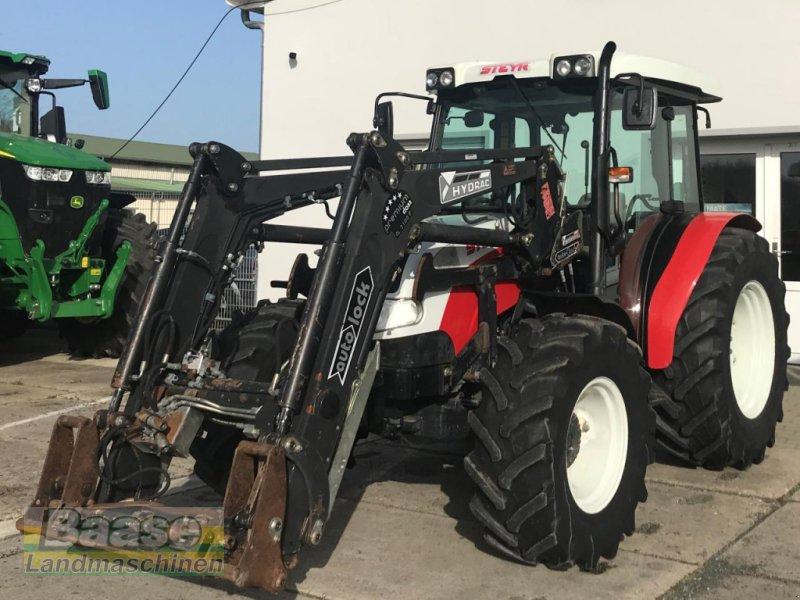 Traktor des Typs Steyr 375 Kompakt mit Hydrac Frontlader, Gebrauchtmaschine in Holthof (Bild 1)