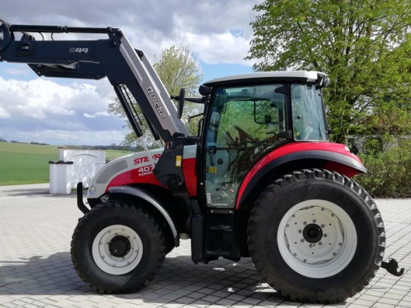 Traktor des Typs Steyr 4075 Kompakt, Gebrauchtmaschine in Maisach (Bild 1)